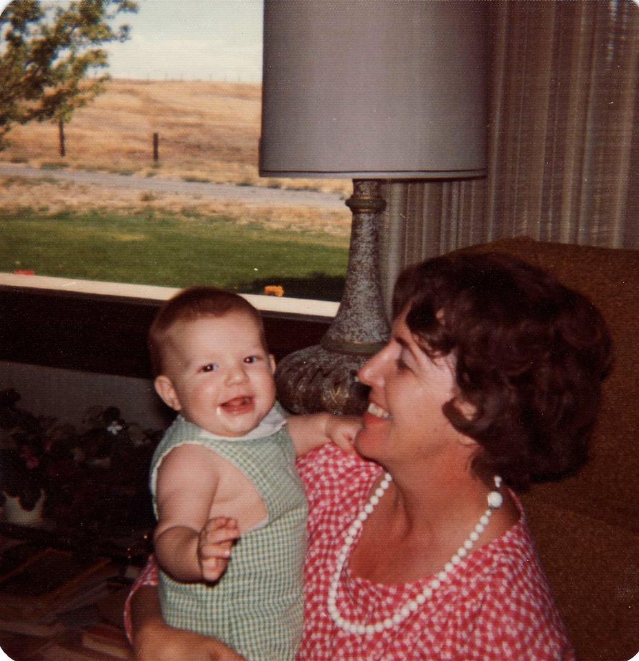 David, Mom 1973, Ranch